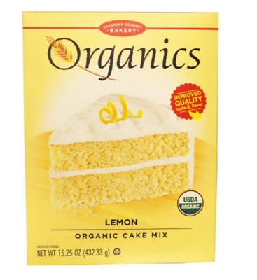 New European Gourmet Bakery Organics Cake Mix Lemon Baking Items Healthy Foods