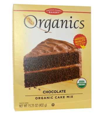 New European Gourmet Bakery Organics Cake Mix Chocolate Baking Item Healthy Food