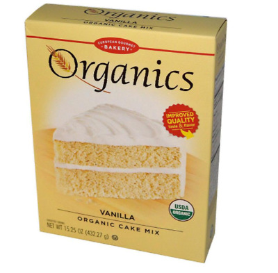 New European Gourmet Bakery Organics Cake Mix Vanilla Baking Item Healthy Food