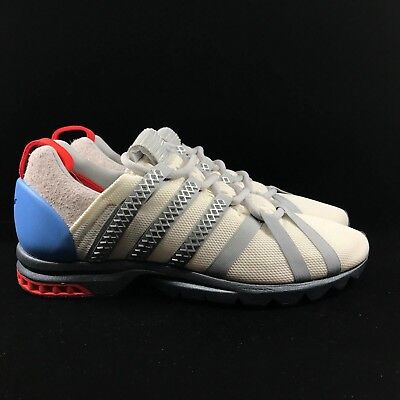 uk availability 35c6c fbce6 Adidas Adistar Comp ADV Consortium Parallel Dimension Grey Red White Blue  BY9836