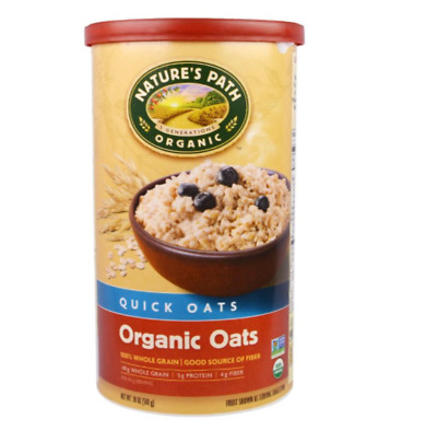 New Country Choice Organic Nature's Path Oats Old Quick Whole Grain Vegan Fiber