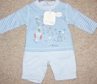 Baby Boys Outfit Of Long Sleeved Top And Fine Cord Trousers Bnwt