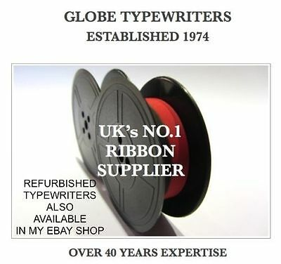 Compatible *black/red* Typewriter Ribbon Fits *brother Deluxe* *top Quality*