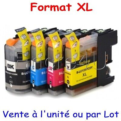 Encres compatibles Brother MFC J4710DW : cartouches LC123 XL x1 4 5 8 9 10 12 16
