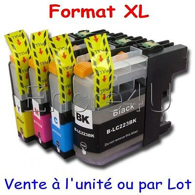 Encres compatibles Brother MFC J4420DW : cartouches LC223 XL x1 4 5 8 9 10 12 16