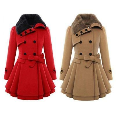 2016 Women's Winter Warm Slim Coats Jacket Thicken Parka Overcoats Long Outwears