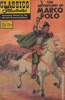 Classics Illustrated 027 Marco Polo #9 1966 GD/VG 3.0 Stock Image Low Grade