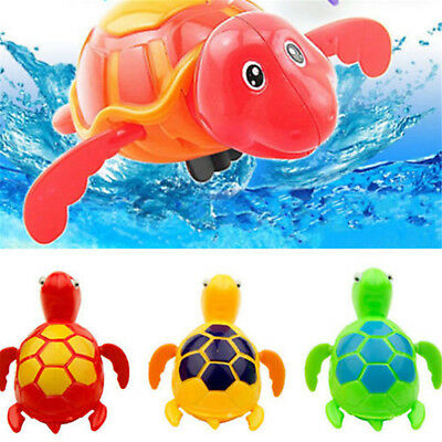 Wind up Swimming Turtle Animal Toy For Kids Baby Children Pool Bath Time HIGH