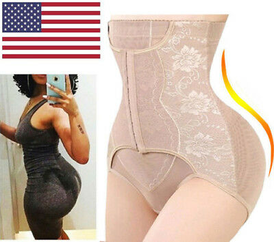 High-Waist Tummy Control Girdle Panty Body Trainer Shaper Butt Lifter Knickers
