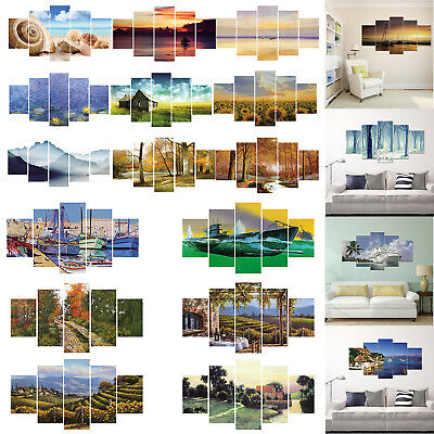 DIY Scenery Abstract Canvas Print Painting Picture Wall Mural Hanging Home Decor