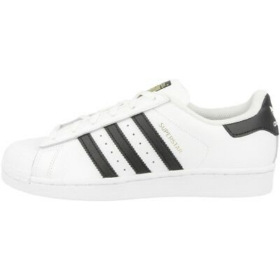 ADIDAS SUPERSTAR J Schuhe white black C77154 Retro Sneaker Dragon  Foundation CF