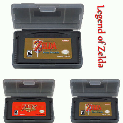 The Minish Cap A Link to the Past and 4Swords Nintendo Game Boy Legend of Zelda