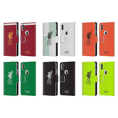 5ba9b5f91 LIVERPOOL FC LFC KIT 2017 18 LEATHER BOOK WALLET CASE FOR APPLE iPHONE  PHONES