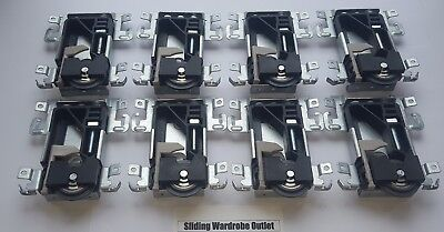 8 X Spacepro/Stanley 17-4264Y-000 sliding wardrobe door part Wheels/Runner/Guide