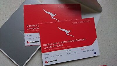 Qantas Club Lounge or Business Lounge passes - NO EXPIRY!
