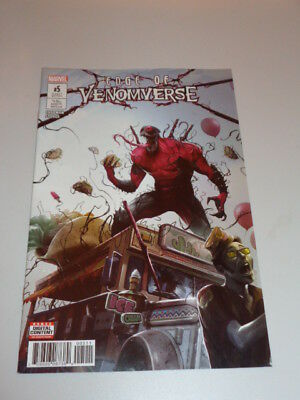 Edge Of Venomverse #5 Marvel Comics October 2017