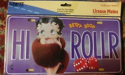 betty boop license plate