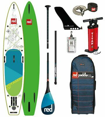 Red Paddle Co 2018 13.6' VOYAGER Touring MSL Set Package Stand Up Paddle Touring