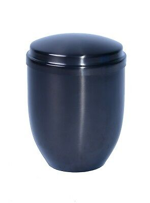 Large/Adult 230 Cubic Inches Pewter Metal Funeral Cremation Urn for Ashes