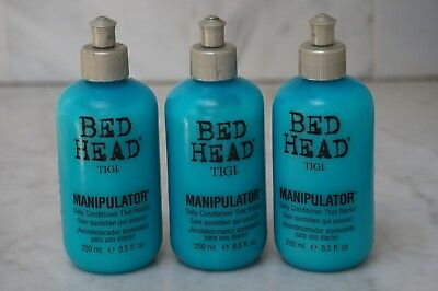 3 PACK. 8.5 oz. Tigi Bed Head Manipulator Daily Conditioner. NEW. FREE SHIPPING.