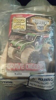Lowes Build and Grow Monster Jam Grave Digger KIT NIP