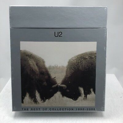 U2 The Best Of Collection 1990-2000 Sealed Promo Vinyl LP/CD Box 2002 Rare