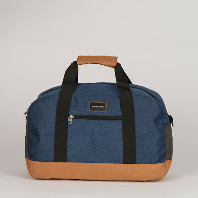 Quiksilver 'Small Shelter' 31L Duffle Bag. Medieval Blue.