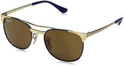 Authentic RAY-BAN Junior Polarized Gold Sunglasses RJ9540S - 260/83 *NEW* 47mm