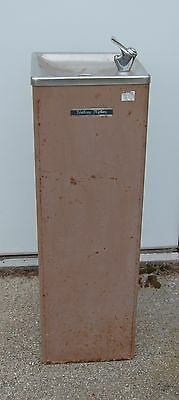 Vintage Halsey Taylor Free Standing Drinking Water Fountain w/ Electric Chiller
