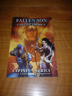 Fallen Son The Death Of Captain America 3. Nm Cond. July 2007.