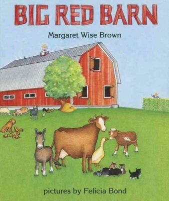 Big Red Barn by Margaret Wise Brown (1995, Board Book)