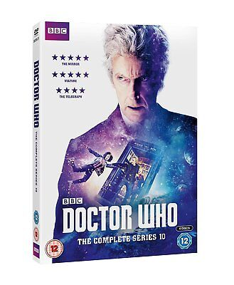 Doctor Who The Complete Series 10 DVD Brand New & Sealed Region 2