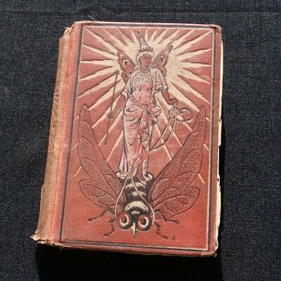 vintage antique early 1900's THE RED FAIRY BOOK Andrew Lang illustrated