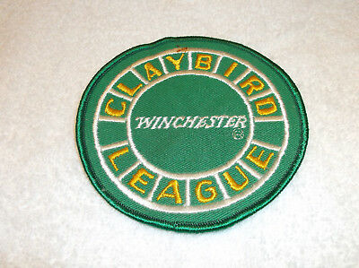 Winchester Claybird League Trap Skeet Hunting Shooting Round Patch