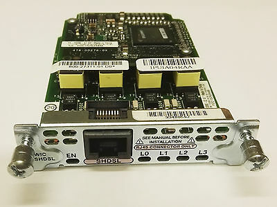 Cisco HWIC-4SHDSL G.SHDSL WAN Interface-Karte