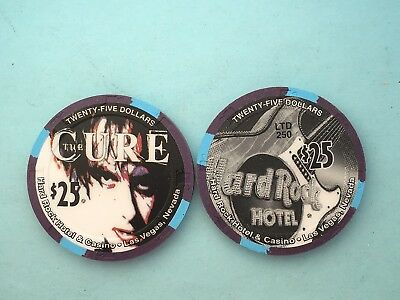 Hard Rock CURE $25 Casino Chip - Mint/New