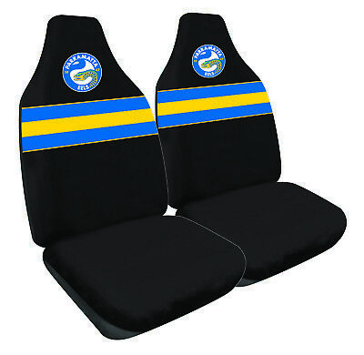 PARRAMATTA EELS Official NRL Seat Covers Airbag Compatible *NEW 2018 Design*