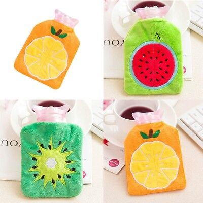 New Winter Portable Mini Hot Water Bag Bottle Plush Warm Hand Kids Random Color