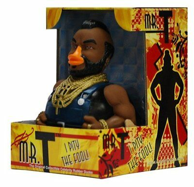 CelebriDucks Mr.T Rubber Duck