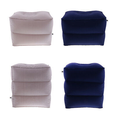 Inflatable Foot Leg Rest Pillow Kids Sleep Bed for Airplanes Camping Travel Car