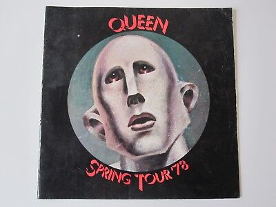 Queen  :  News Of The World - 1978 Spring Tour - Uk Concert Programme