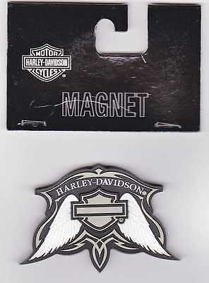 Harley Davidson Magnet Modell Wings Bar & Shield