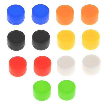 Silicone Analog Grip Thumbstick Bullet Buttons for Sony PS4 Game Controller
