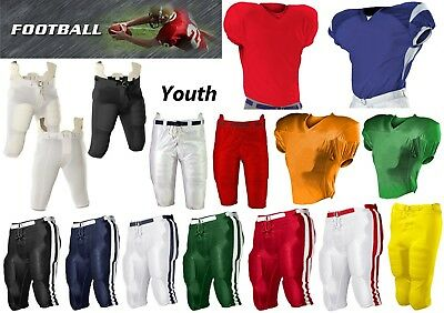 e4b8a2dc3 NEW RAWLINGS YOUTH 7-Pad Integrated Football Pants White All Sizes ...