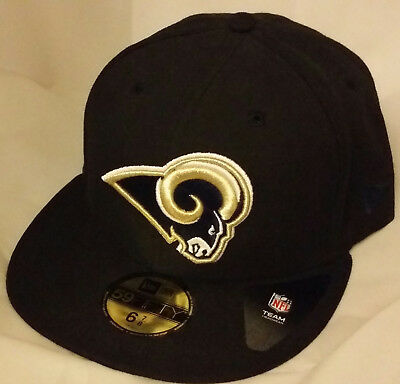 87900e23b09 NWT NEW ERA ST LOUIS RAMS los angeles la 59FIFTY fitted football cap hat nfl