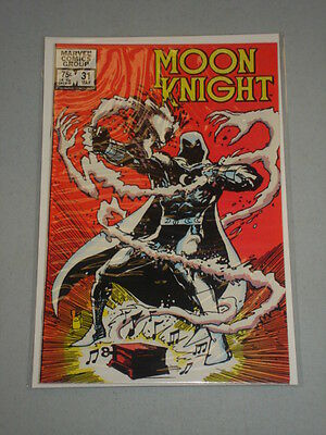 Moon Knight #31 Vol 1 Marvel Kevin Nowlan Art June 1983