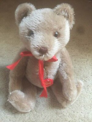 Vintage Mohair Hermann Teddy Bear With Moving Tail That Moves The Head!