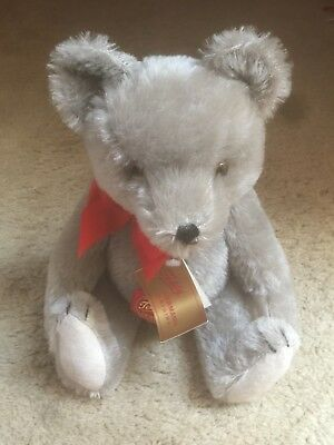 Vintage Hermann Mohair Teddy Bear With Original Tags! Excellent Condition!