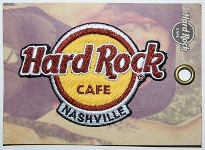 Hard Rock Cafe® Aufnäher Patch Nashville USA NEU