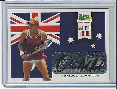 2013 Ace Authentic Grand Slam Tennis National Pride Auto Monique Adamczak
